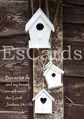 SLT 33 But as for me and my house we will serve the Lord!